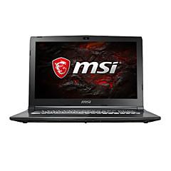 Msi pelaamista kannettava tietokone 15,6 tuumaa intel i7-7700hq 8gb ddr4 1tb hdd windows10 gtx1050ti 4gb gl62m 7rex-1252cn