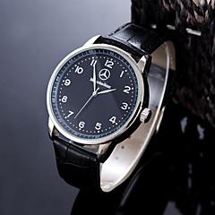 Herrn Armbanduhr Einzigartige kreative Uhr Armbanduhren für den Alltag Sportuhr Kleideruhr Modeuhr Chinesisch Quartz Wasserdicht Leder