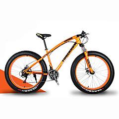 お買い得  自転車-マウンテンバイク ファットバイク サイクリング 21スピード 26 inch/700CC 40 mm SHIMANO 30 オイルディスクブレーキ スプリンガーフォーク