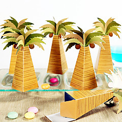 cheap Favor Holders-12 Piece/Set Favor Holder - Arabic Palm Tree Favor Boxes Beter Gifts® DIY Events Party Decoration