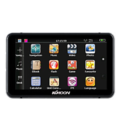KKmoon 7 HD Touch Screen Portable GPS Navigator 128MB RAM 4GB ROM FM MP3 Video Play Car Entertainment System with Handwriting Pen Free Map