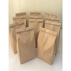 cheap Favor Holders-50pcs Grocery Store Bag 27.5 x 15 x 9 cm Brown Kraft Paper Bag Beter Gifts® Life Style / DIY Gift Wrap