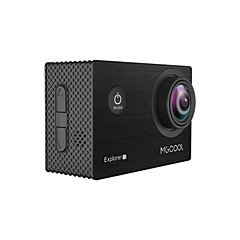 mgcool explorer 1s 4k action kamera novateknt96660chipset med wifi, sportslig
