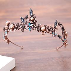 baratos Acessórios de Cabelo-imitação de pérolas de liga de pérolas cabeça clássica estilo feminino