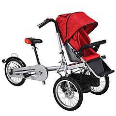 billige Sykler-Komfort Sykler Foldesykkel Sykling 16 tommer (ca. 39cm) Skivebremse Ikke dempende Vanlig Stål Aluminiumslegering