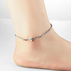 בגדי ריקוד נשים תכשיט לקרסול/צמידים מתכת פלדה טבע Animal Shape תכשיטים עבור יומי