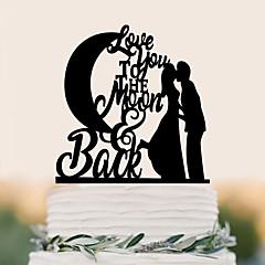 Taarttoppers Hoge kwaliteit Bruiloft Verjaardag Bruiloft Verjaardag Pvc-Bag