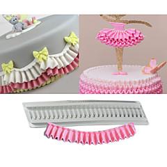 billige Bakeredskap-Bakeware verktøy Silikon Gummi Silikon Non-Stick baking Tool Bursdag Kake Cake Moulds 1pc