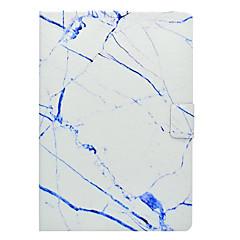 billige Nettbrettetuier&Skjermbeskyttere-Etui Til Apple iPad Mini 3/2/1 iPad 4/3/2 iPad Air 2 iPad Air Kortholder med stativ Mønster Heldekkende etui Marmor Hard PU Leather til