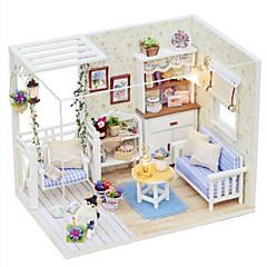 장난감 DIY 오리 유명한 빌딩 집 건축 플라스틱 조각 규정되지 않음 생일 선물