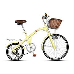אופני נוחות רכיבת אופניים 7 מהיר 16 אינץ' 24 אינץ' RIPIN בלם קליפר משיכה מרכזית קבוע ללא דאמפים רגיל פלדה