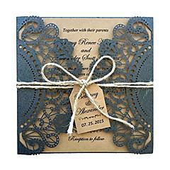 観音折り 結婚式の招待状-招待状カード 招待状サンプル 母の日のカード ベビーシャワー・カード ブライダルシャワー・カード 婚約披露パーティー・カード ビンテージ エンボス紙