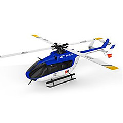 cheap RC Helicopters-RC Helicopter WL Toys K124 6CH 6 Axis 2.4G Brushless Electric - Ready-to-go Upside Down Flight Remote Control / RC Flybarless