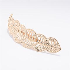 Europa e os Estados Unidos marca de jóias de comércio exterior com moda metal folhas deixa o cabelo de cabelo feminino cabelo a0154