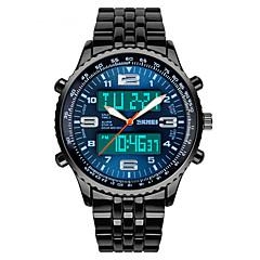 tanie Inteligentne zegarki-Inteligentny zegarek YYSKMEI1032 na Długi czas czuwania / Wodoszczelny / Wodoodporny / Wielofunkcyjne / Sportowy Stoper / Budzik / Chronograf / Kalendarz / Dwie strefy czasowe