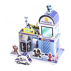 tanie Gry i puzzle-Zabawki 3D Puzzle Papierowy model Model Bina Kitleri Dom Architektura 3D DIY Papier wysokiej jakości Klasyczny Dla chłopców Dla obu płci