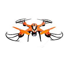 billige Fjernstyrte quadcoptere og multirotorer-RC Drone SJ  R / C T30CW 4 Kanal 2.4G Med HD-kamera 0.5MP Fjernstyrt quadkopter En Tast For Retur / Sveve Fjernstyrt Quadkopter / / CE