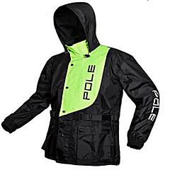 tanie Kurtki motocyklowe-Płaszcz przeciwdeszczowy Polichlorek winylu Tkanina ESP+PC Męskie Na każdą porę rokuWodoodporny Bezzapachowy Podczas deszczu Składany