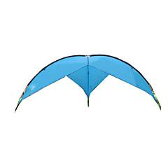 billige Telt og ly-5-8 personer Beskyttelse & Presenning Telt camping Tent Brette Telt Vanntett Ultraviolet Motstandsdyktig gå litt i løssnø til Lerret CM