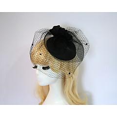 Resina Capacete-Casamento Ocasião Especial Festa/Noite Fascinador Chapéus 1 Peça