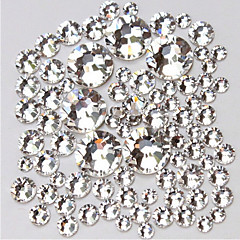 14400 Manucure Dé oration strass Perles Maquillage cosmétique Nail Art Design