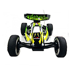 billige Fjernstyrte biler-Radiostyrt Bil WL Toys 2307 4 Kanal 2.4G Go kart 4WD Høyhastighet Driftbil Off Road Car Buggy (Off- Road) 1:24 KM / H Variabel hastighet