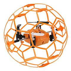 billige Fjernstyrte quadcoptere og multirotorer-RC Drone Skytech M70 4 Kanal 2.4G Fjernstyrt quadkopter LED Lys Fjernstyrt Quadkopter / USB-kabel / Blader