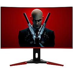 MicroStar gaming computer monitor 31.5 inch curved 1800R narrow bezel flicker-free blue-filtered VA 1920*1080 HDMI/DP