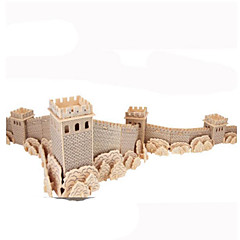 baratos -Quebra-Cabeças 3D Quebra-Cabeças de Metal Brinquedos de Montar Faça Você Mesmo Madeira Natural Clássico Crianças Adulto Unisexo Brinquedos Dom