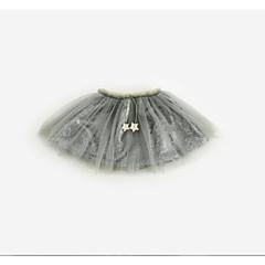billige Pigenederdele-Baby Pige Ensfarvet Nederdel Sort 100
