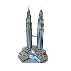tanie Gry i puzzle-Zabawki 3D / Papierowy model / Model Bina Kitleri Wieża / Znane budynki / Konik majsterkowanie Klasyczny Dla obu płci Prezent