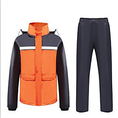 baratos Jaquetas de Motociclismo-Roupa da motocicleta Capa de Chuva para Todos PVC Primavera / Todas as Estações Impermeável / Sem Cheiros / Dobrável
