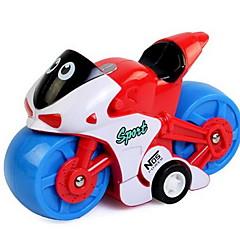 Terugtrekauto/Inertie-auto Opwindspeelgoed Speelgoedauto's Motorfietsen Speeltjes Motorfietsen Speeltjes Kunststoffen Stuks Niet