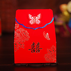 cheap Favor Holders-Others Creative Card Paper Pearl Paper Favor Holder with Pattern Favor Boxes Favor Bags Gift Boxes - 100