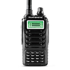 billige Walkie-talkies-365 Walkie-talkie Håndholdt Programmeringskabel Nød Alarm Programmerbar med datasoftware Strømsparefunksjon Lader og adapter VOX
