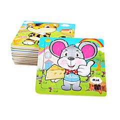 Bildungsspielsachen Holzpuzzle Spielzeuge Maus friut Unisex Stücke