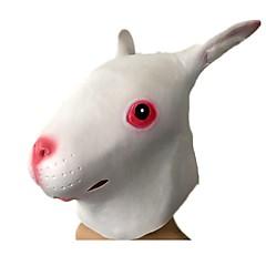 Halloweenské masky Masky zvířat Hračky Rabbit Horor Téma Pieces Unisex Dárek