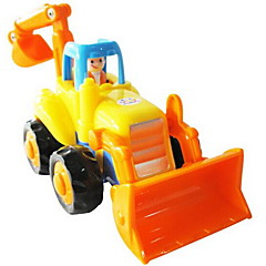Terugtrekauto/Inertie-auto Opwindspeelgoed Speelgoedauto's Constructievoertuig Graafmachine Speeltjes Vorkheftruck Graafmachine