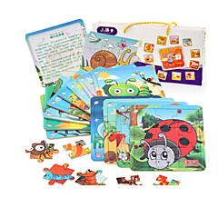 Bildungsspielsachen Holzpuzzle Spielzeuge Hühnchen MOON andere friut Unisex Stücke