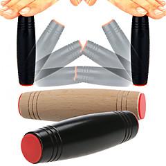 billige Håndspinnere-2 pcs Magnetiske leker Mokuru Fidgetpinne / Fidgetleke til kontoret / Fidgetleker Naturlig Tre / Gummi Nyhet Barne / Voksne Gave