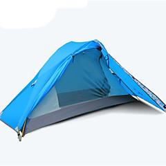 3-4 personer Tilbehør for Telt Dobbelt camping Tent Ett Rom Brette Telt Vanntett Pustende Telt Vinntett til Camping & Fjellvandring