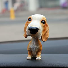 jimmy bil dekorasjon hånd riste bil dukke pendul dekorasjon smykker tegneserie bil interiør dekorasjon bil tilbehør dverg hound