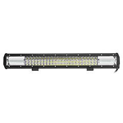 324W 32400lm 6000K LED White Combo 3-Rows Working Light for Car/Boat/Headlight   9v-32v