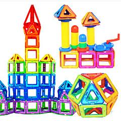 אבני בניין בלוקים מגנטיים מגדיר בניין מגדיר מכוניות צעצוע צעצועים בית חתיכות בגדי ריקוד ילדים נערים מתנות