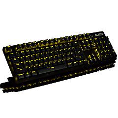 billiga Keyboards-AJAZZ Kabel Multi färg bakgrundsbelysning svarta Switches 104 mekanisk Tangentbord bakgrundsbelyst