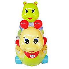 Brinquedos de Corda Blocos Lógicos Brinquedos Caracol Plásticos Peças Não Especificado Dom