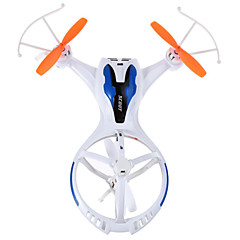 billige Fjernstyrte quadcoptere og multirotorer-RC Drone M71 4 Kanal 2.4G - Fjernstyrt quadkopter LED-belysning Fjernstyrt Quadkopter USB-kabel Skrutrekker Blader
