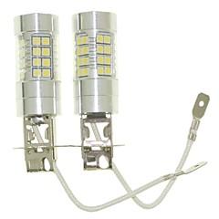 abordables -SENCART 2pcs H3 Automatique Ampoules électriques 36W W SMD 3030 1500-1800lm lm Ampoules LED Feu Antibrouillard