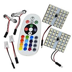 billige Interiørlamper til bil-JIAWEN Festong / T10 Bil Elpærer 8W SMD 5050 interiør Lights