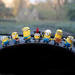 Diy automotive ornamenten cartoon poppen schattige poppen auto hanger&Ornamenten pvc